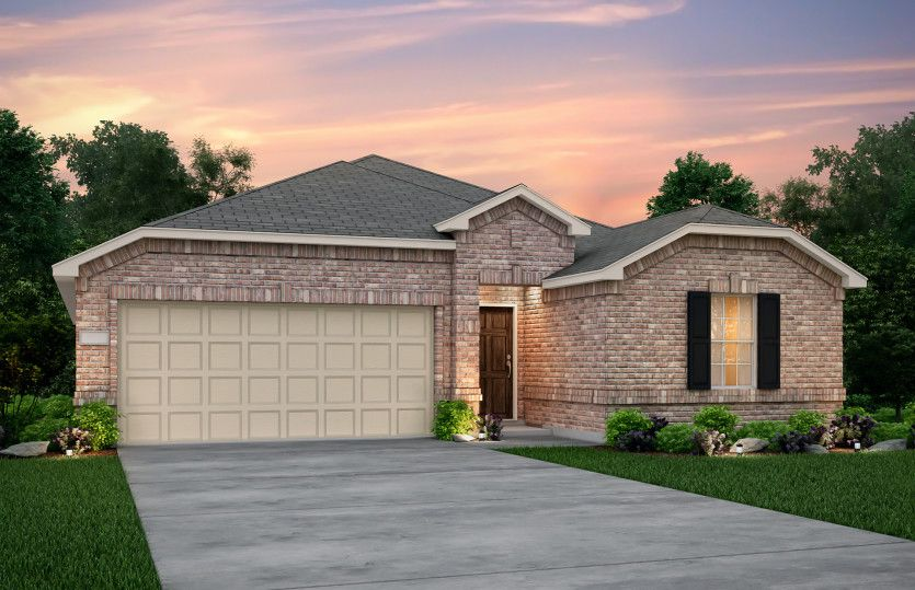 Exterior featured in the Killeen By Centex Homes in Dallas, TX
