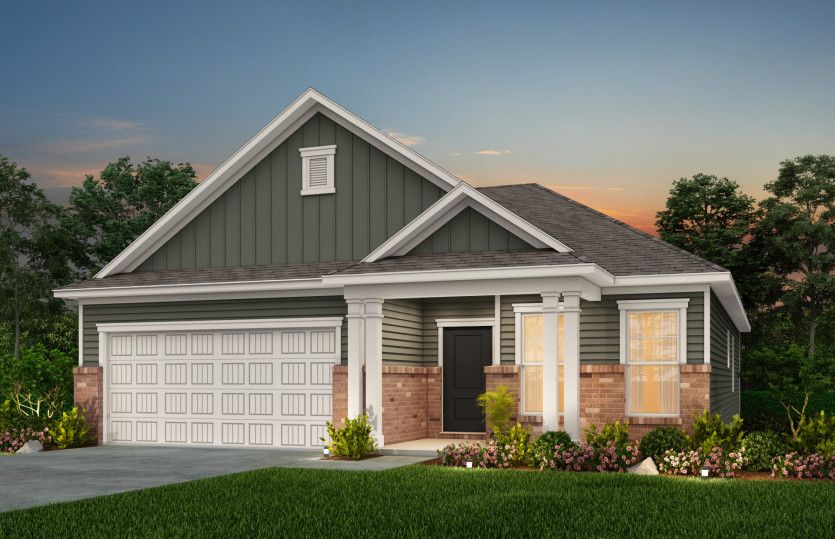 Exterior featured in the Morgan By Centex Homes in Myrtle Beach, SC