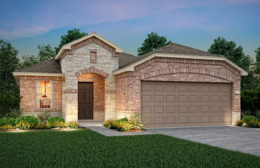 Exterior featured in the Becket By Centex Homes in Fort Worth, TX