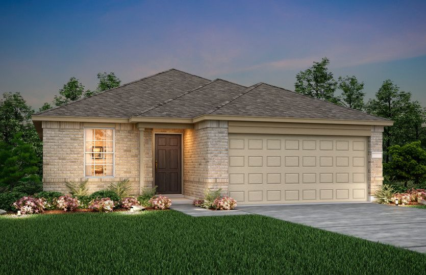 Exterior featured in the Independence By Centex Homes in Fort Worth, TX