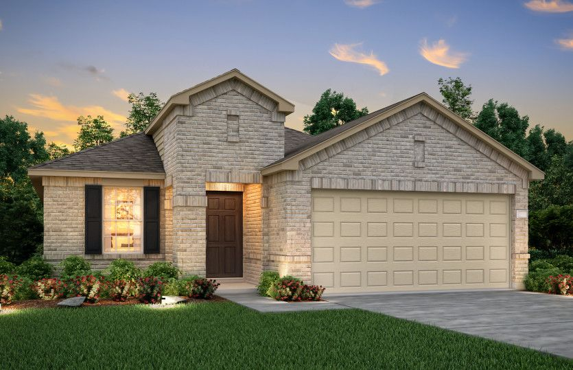 Exterior featured in the Hewitt By Centex Homes in Dallas, TX