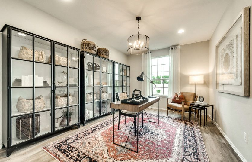 Living Area featured in the Thomaston By Centex Homes in Dallas, TX