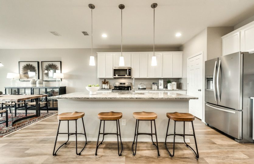 Kitchen featured in the Thomaston By Centex Homes in Dallas, TX
