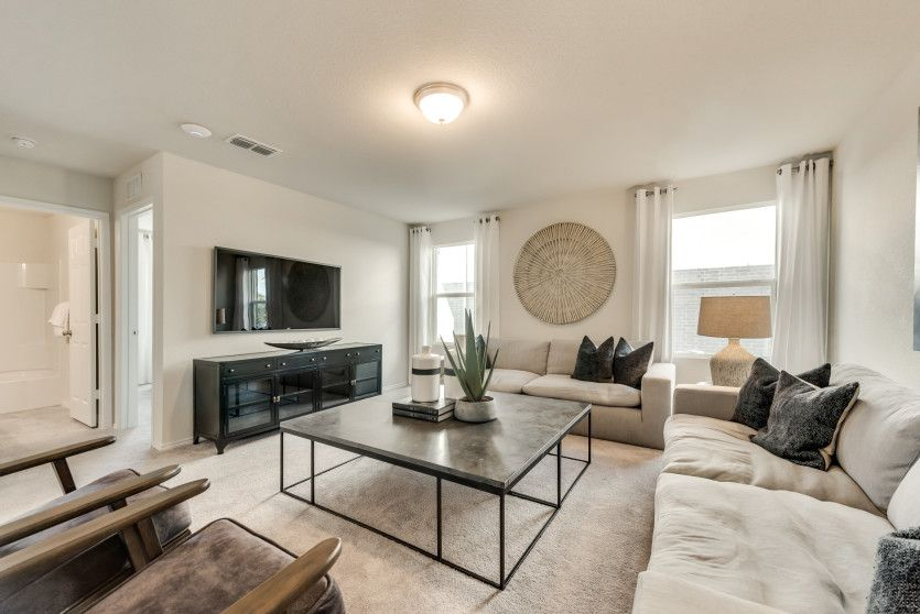 Living Area featured in the Lincoln By Centex Homes in Sherman-Denison, TX