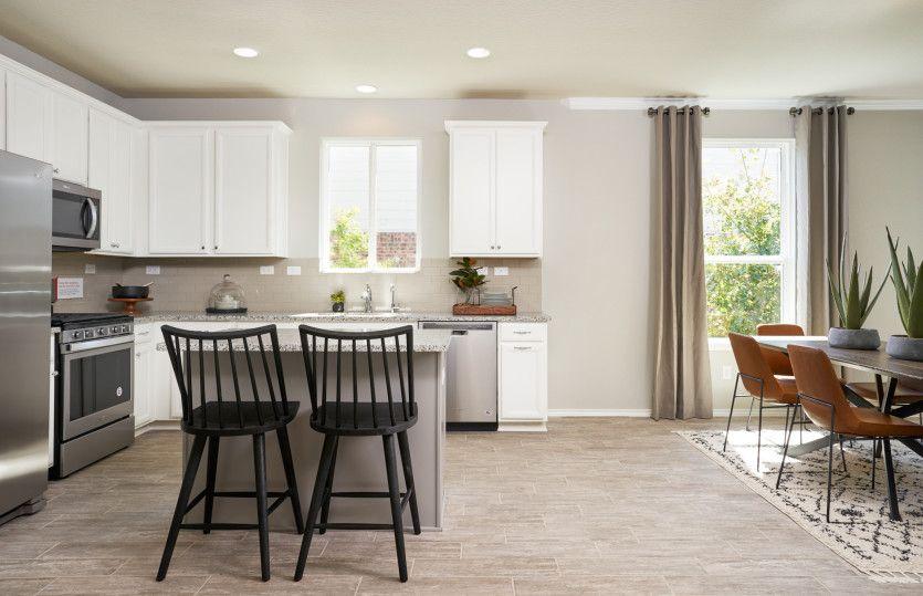 Kitchen featured in the Hewitt By Centex Homes in San Antonio, TX
