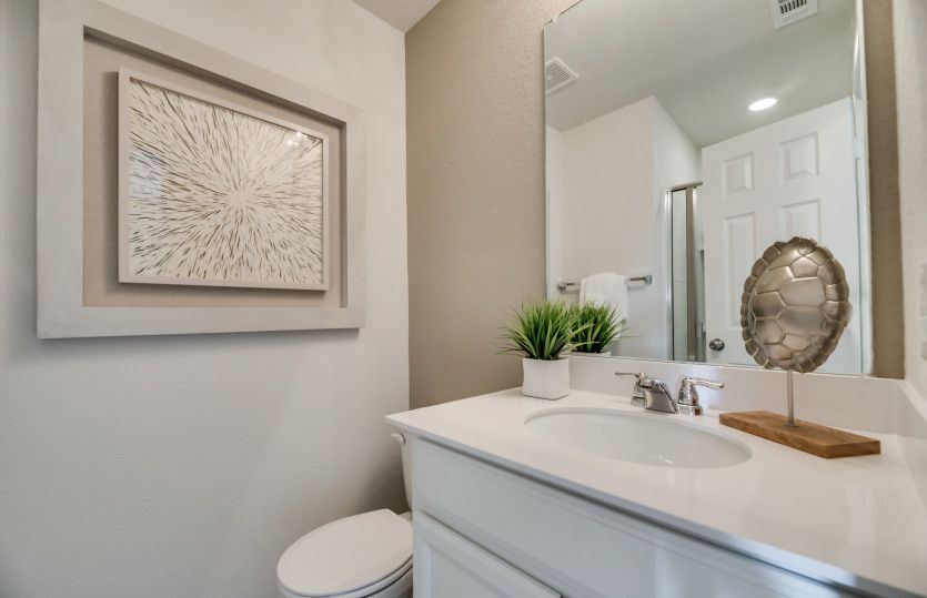 Bathroom featured in the Sandalwood By Centex Homes in Fort Worth, TX