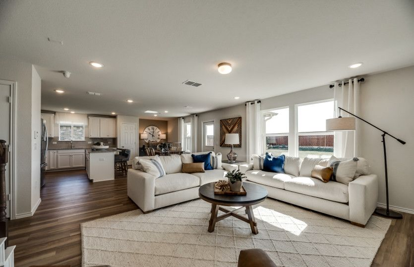Living Area featured in the Sandalwood By Centex Homes in Fort Worth, TX