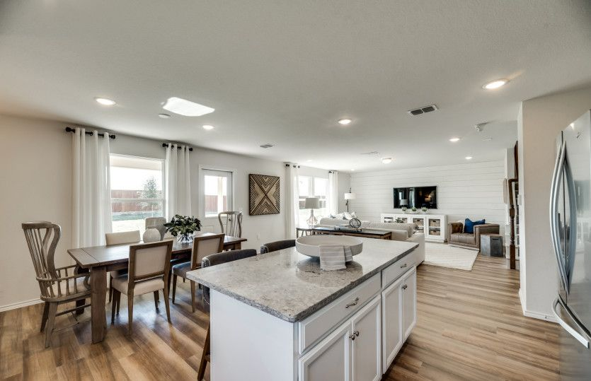 Kitchen featured in the Sandalwood By Centex Homes in Fort Worth, TX