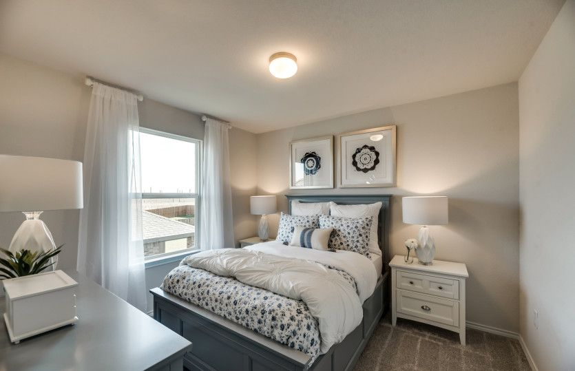 Bedroom featured in the Sandalwood By Centex Homes in Fort Worth, TX