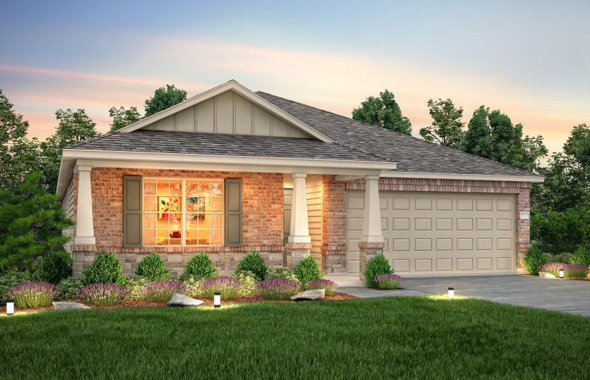 Exterior featured in the Tyler By Centex Homes in Houston, TX