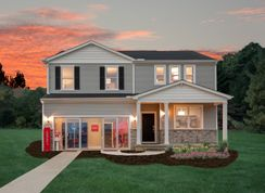 Hampton - Crossings at Rocky Fork: Westerville, Ohio - Centex Homes