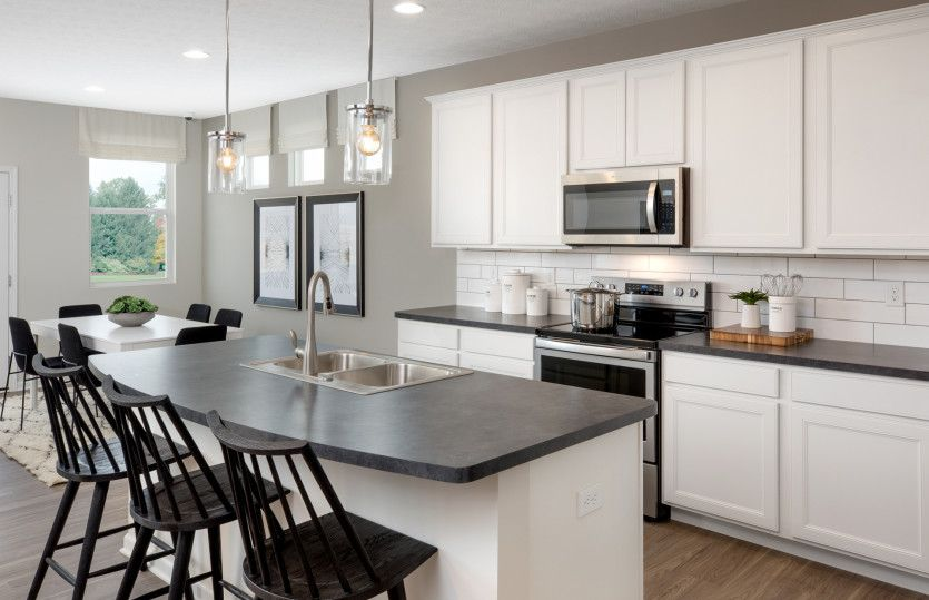 Kitchen featured in the Hampton By Centex Homes in Columbus, OH