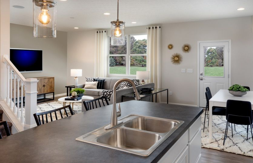 Living Area featured in the Hampton By Centex Homes in Columbus, OH