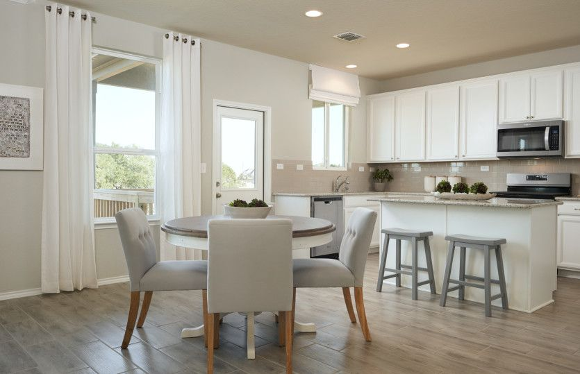 Kitchen featured in the Mesilla By Centex Homes in San Antonio, TX