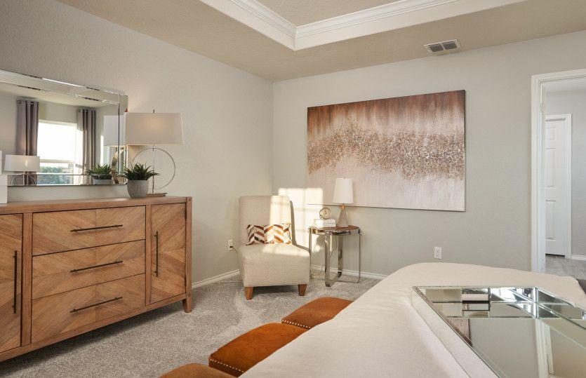 Bedroom featured in the Mesilla By Centex Homes in San Antonio, TX