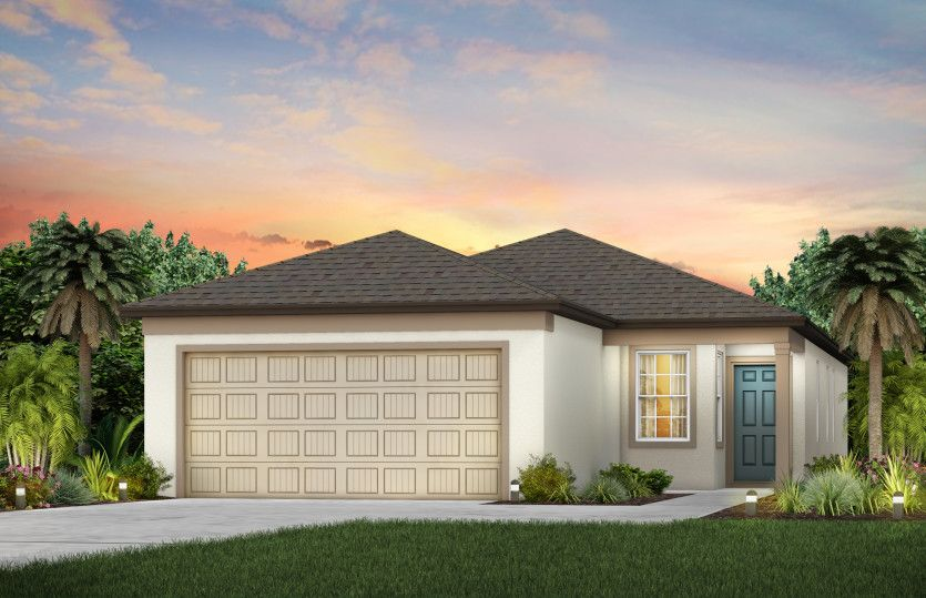 Exterior featured in the Collier By Centex Homes in Sarasota-Bradenton, FL