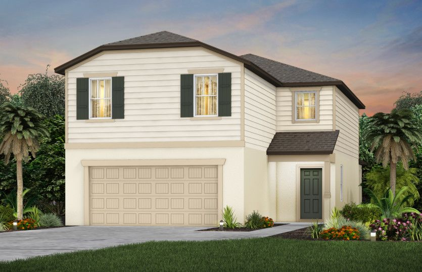 Exterior featured in the Tybee By Centex Homes in Tampa-St. Petersburg, FL