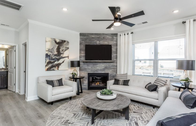 Living Area featured in the Hampton By Centex Homes in Raleigh-Durham-Chapel Hill, NC