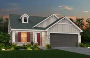 Independence - The Hills at Cielo Ranch: Boerne, Texas - Centex Homes