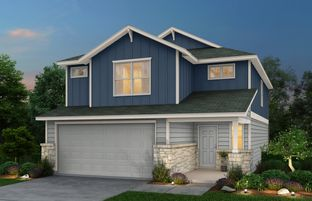 Lincoln - The Overlook at Creekside: New Braunfels, Texas - Centex Homes