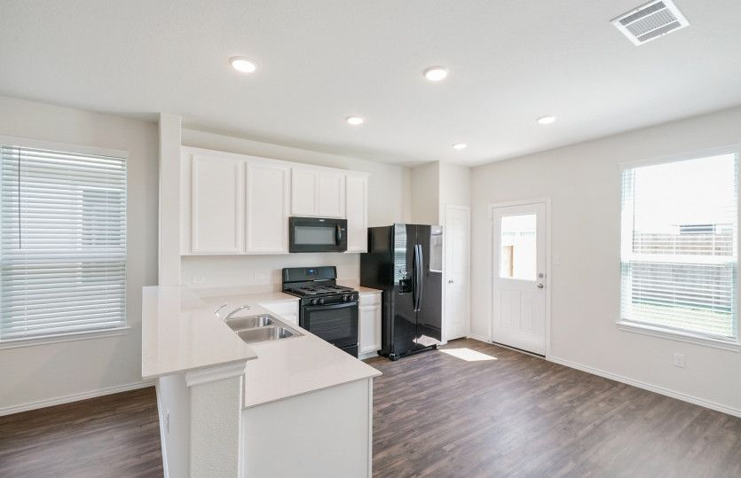 Kitchen featured in the Adams By Centex Homes in Austin, TX