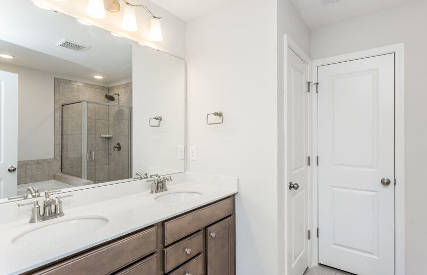 Bathroom featured in the Aspire By Centex Homes in Raleigh-Durham-Chapel Hill, NC