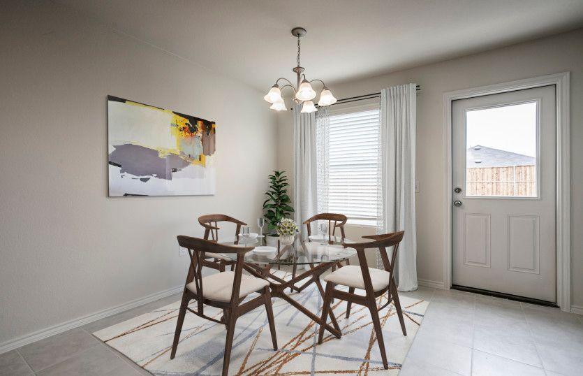 Kitchen featured in the Serenada By Centex Homes in Austin, TX