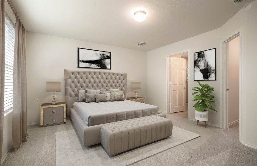 Bedroom featured in the Serenada By Centex Homes in Fort Worth, TX