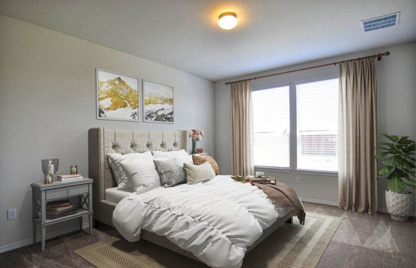 Bedroom featured in the Rayburn By Centex Homes in Fort Worth, TX