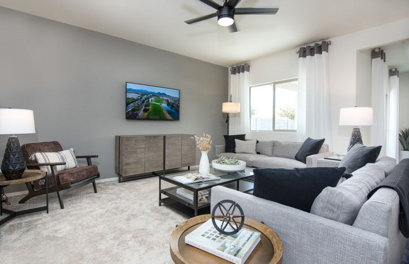 Living Area featured in the Verbena By Centex Homes in Phoenix-Mesa, AZ