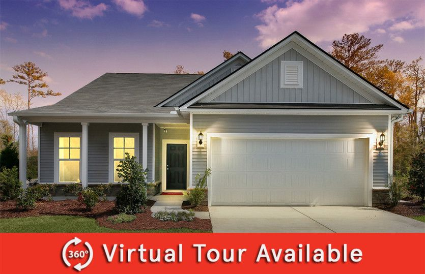 Exterior featured in the Compton By Centex Homes in Charleston, SC