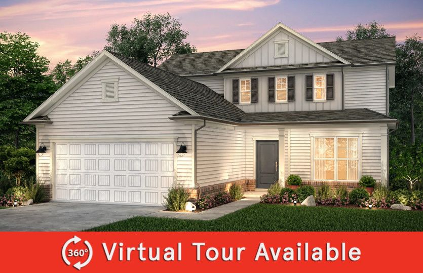 Exterior featured in the Hartwell By Centex Homes in Raleigh-Durham-Chapel Hill, NC