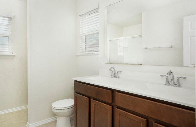 Bathroom featured in the Pierce By Centex Homes in San Antonio, TX