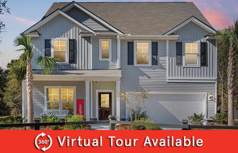 Exterior featured in the Hampton By Centex Homes in Myrtle Beach, SC