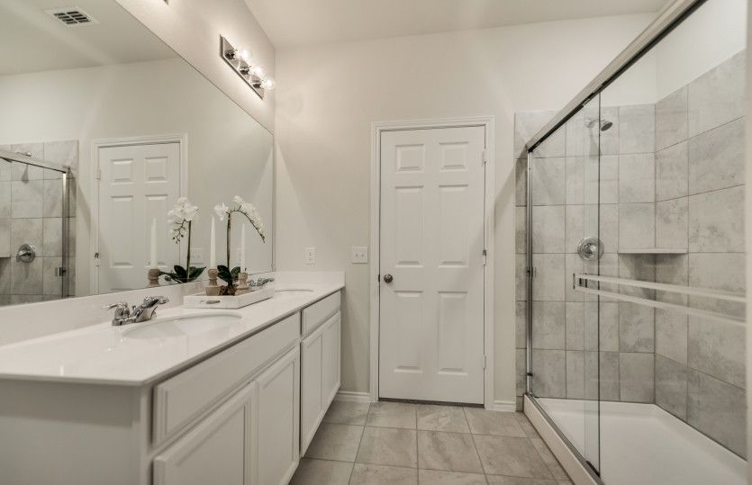 Bathroom featured in the Killeen By Centex Homes in Fort Worth, TX