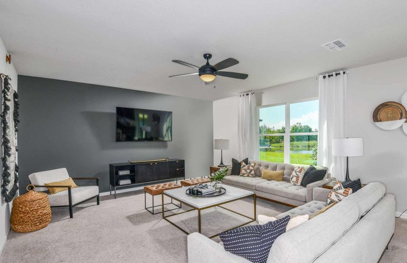 Living Area featured in the Thompson By Centex Homes in Lakeland-Winter Haven, FL