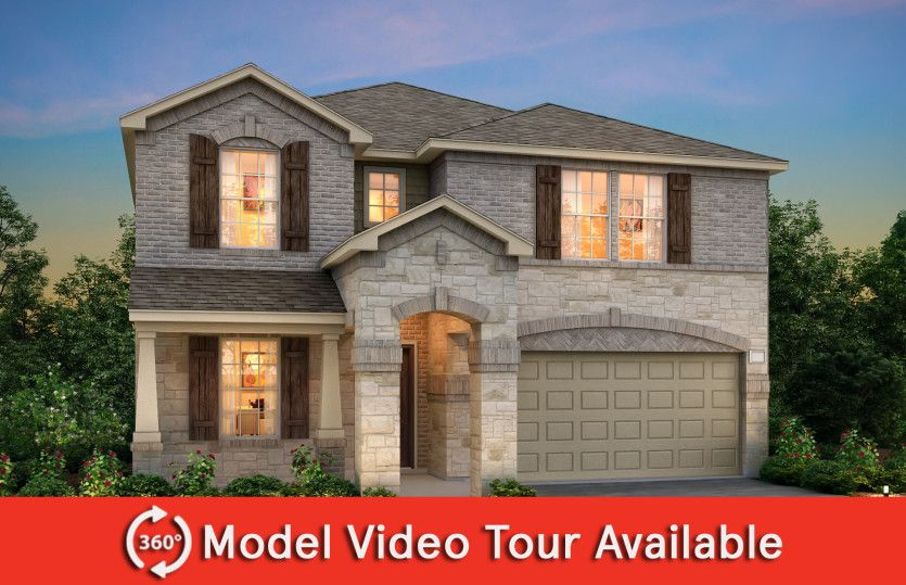 Exterior featured in the Kisko By Centex Homes in Dallas, TX