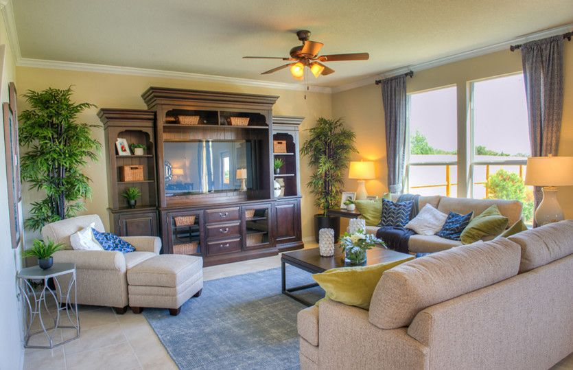 Living Area featured in the Sandalwood By Centex Homes in Houston, TX