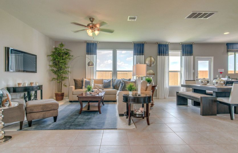 Living Area featured in the Mesilla By Centex Homes in Houston, TX