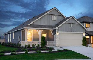 Hewitt - The Overlook at Creekside: New Braunfels, Texas - Centex Homes
