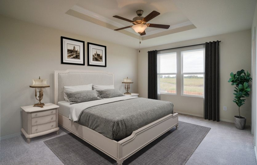 Bedroom featured in the Pierce By Centex Homes in Sherman-Denison, TX
