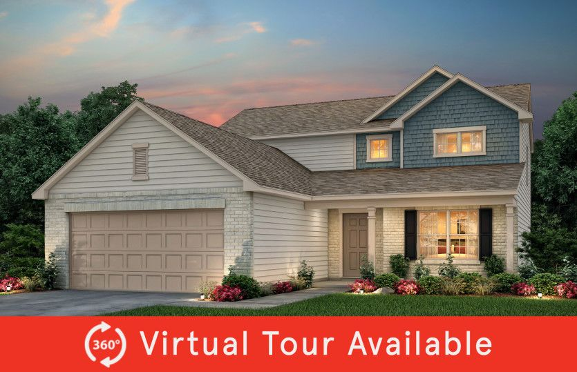 Exterior featured in the Hartwell By Centex Homes in Nashville, TN