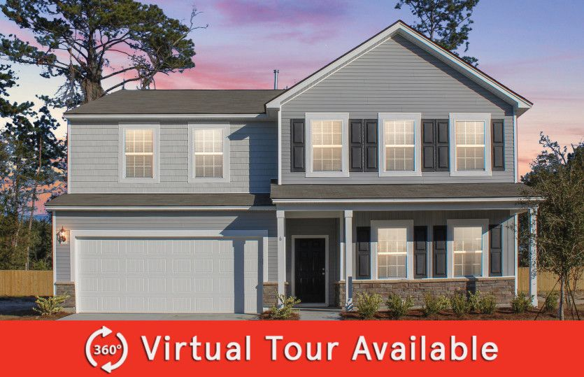 Exterior featured in the Mitchell By Centex Homes in Hilton Head, SC