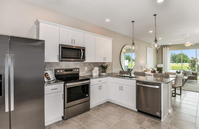 Kitchen featured in the Sycamore By Centex Homes in Tampa-St. Petersburg, FL