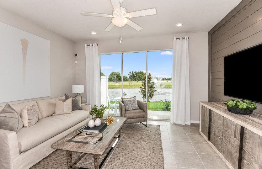 Living Area featured in the Sycamore By Centex Homes in Tampa-St. Petersburg, FL