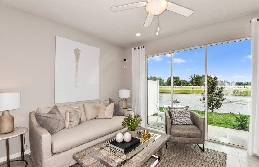 Living Area featured in the Evergreen By Centex Homes in Tampa-St. Petersburg, FL