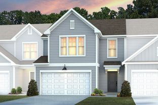 Kingston - Lakeshore Townes: Durham, North Carolina - Centex Homes