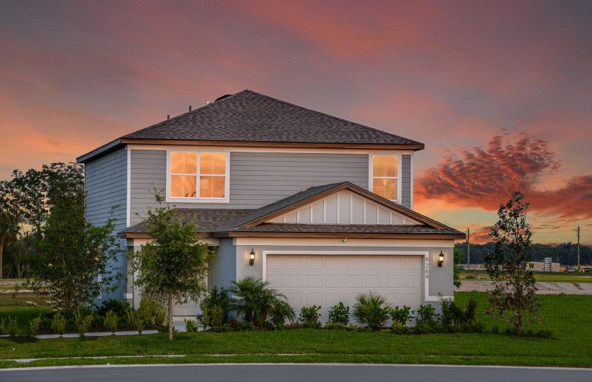 Exterior featured in the McNair By Centex Homes in Tampa-St. Petersburg, FL