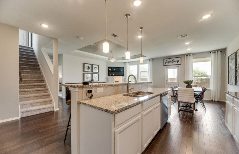 Kitchen featured in the Stockdale By Centex Homes in Dallas, TX