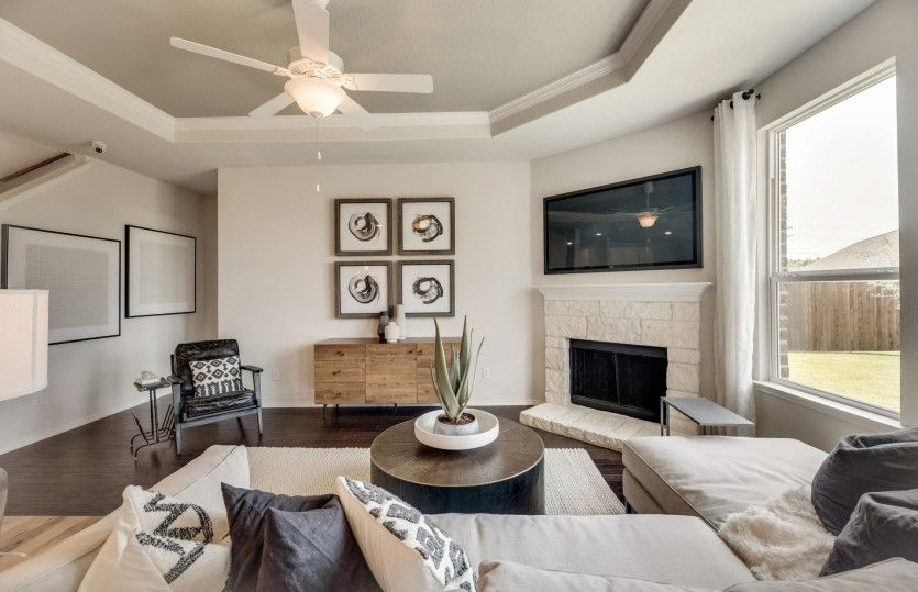Living Area featured in the Stockdale By Centex Homes in Dallas, TX